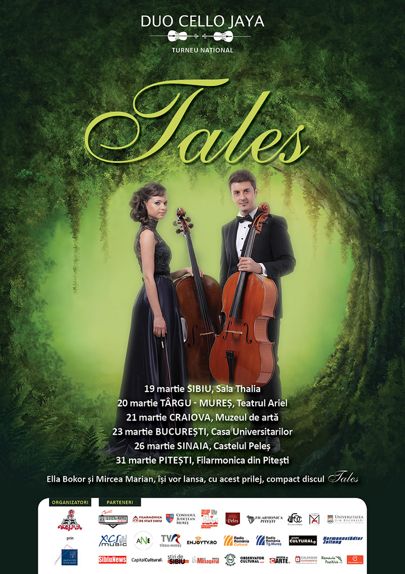 Turneul National Tales duo cello jaya